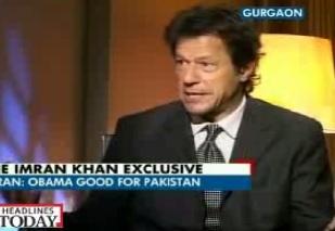 Imran Khan Interview on Aaj Tak News India 7 November 2012