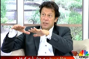Imran Khan answering Questions of PakistanYouth in Live with Mujahid