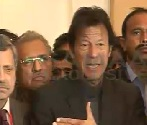 Imran Khan talking about Voters Lists in Karachi