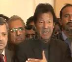 Imran Khan talking about Voters Lists in Karachi