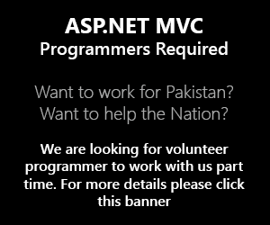 ASP.NET MVC Programmers Required