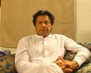 Imran Khan Message about Justice Wajihudeen Issue
