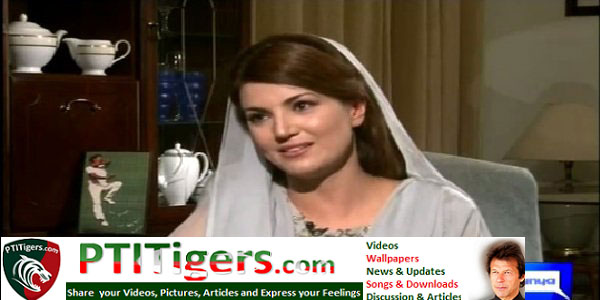 Reham Khan Interview with Moeed Pirzada – 7th May 2015