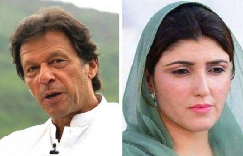 Imran Khan Ka Ayesha Gulalai Kay Khilaf Notice – Dunya News